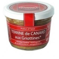 terrine de canard/griottines